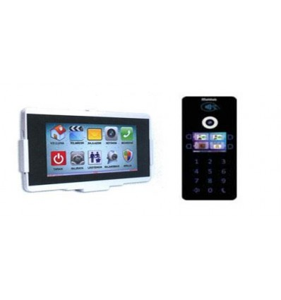 Multitek IP İnterkom Paket VIP70-STD/DIP40 1 Daire